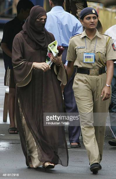Rahin Memon wife of Prime suspect of the 1993 Mumbai bomb blasts case Yakub Abdul Razak Memon after she was acquitted by the court on September 13...