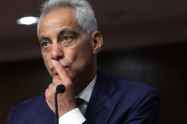 DC: Rahm Emanuel Testifies At His Confirmation Hearing on Capitol Hill