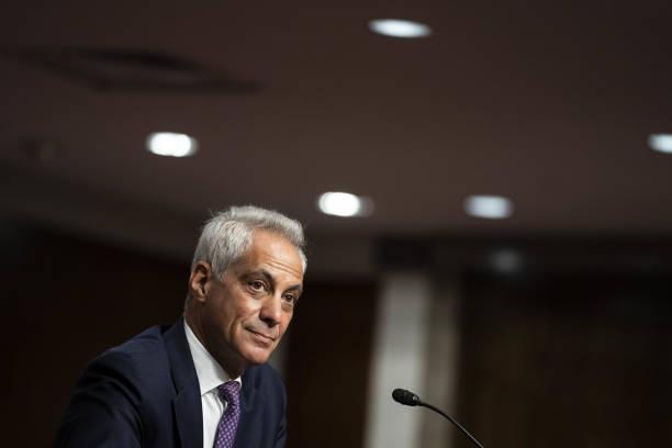 DC: Senate Foreign Relations Confirmation Hearing For Ambassador To Japan Rahm Emanuel