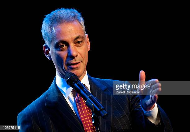 Rahm Emanuel visits the House Of Blues Chicago on January 10 2011 in Chicago Illinois