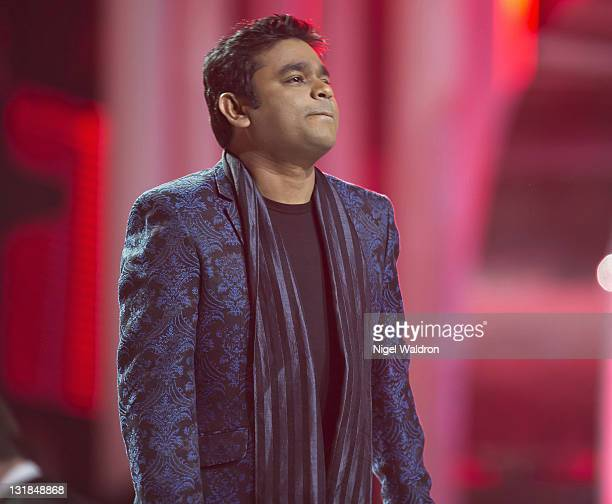 A R Rahman performs at the Nobel Peace Prize Concert at Oslo Spektrum on December 11 2010 in Oslo Norway