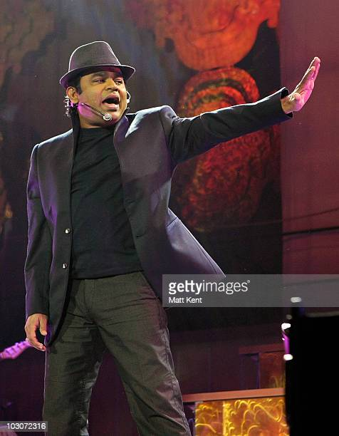 Rahman performs The Journey Home at 02 Arena on July 24 2010 in London England