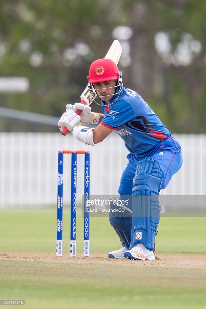 ICC U19 Cricket World Cup - Sri Lanka v Afghanistan