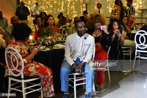 Rahsan Rahsan Lindsay attends the Cadillac Welcome Luncheon At ABFF Black Hollywood Now at The Temple House on June 13 2018 in Miami Beach Florida