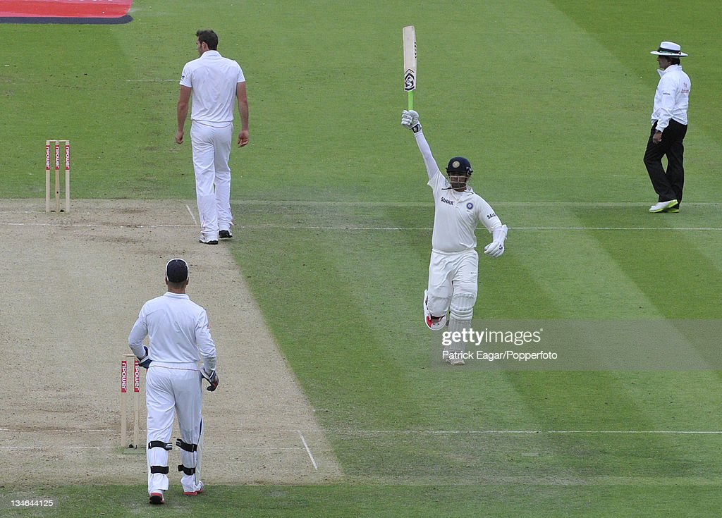 England v India, 1st Test, Lord's, July 2011 : News Photo
