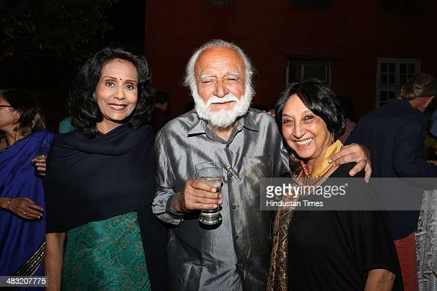 Rahul Singh son of Khushwant Singh during an evening of drinks and music in remembrance of the late author Khushwant Singh organised by Bhaichand...