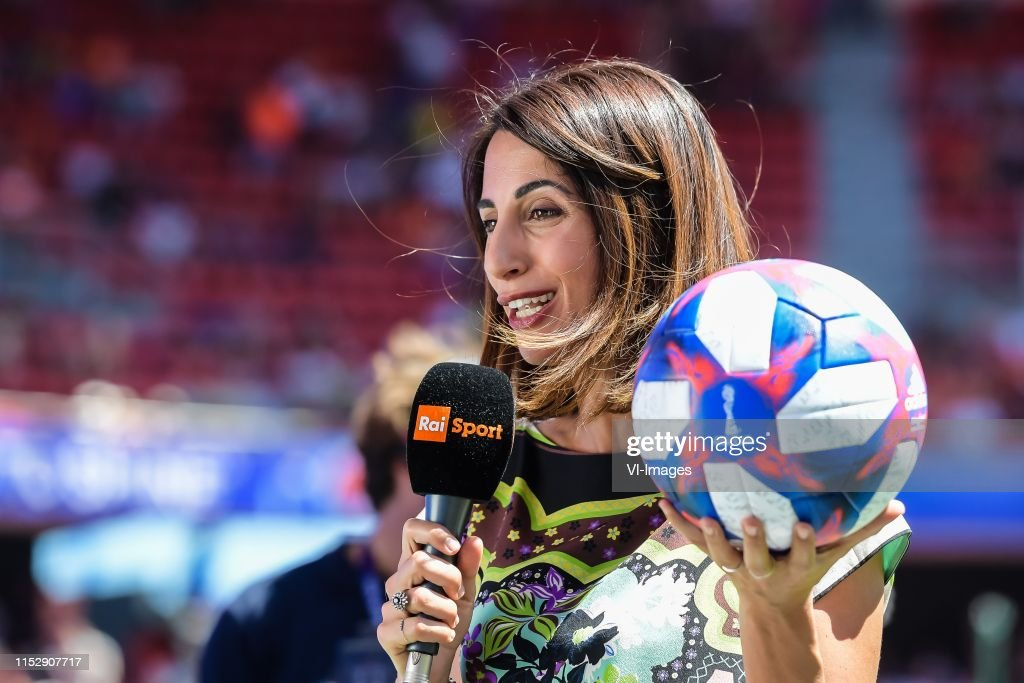 Rai Sports Presenter Giorgia Cardinaletti During The Fifa Women S News Photo Getty Images