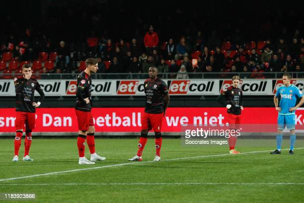 Rai Vloet of Excelsior Rotterdam, Stijn Meijer of Excelsior Rotterdam, Ahmad Mendes Moreira of Excelsior Rotterdam, Elias Mar Omarsson of Excelsior...