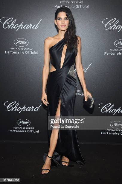 Raica Oliveira attends Chopard Secret Night during the 71st annual Cannes Film Festival at Chateau de la Croix des Gardes on May 11 2018 in Cannes...