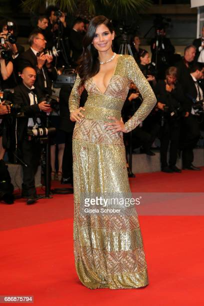 Raica Oliveira attends the 'Happy End' screening during the 70th annual Cannes Film Festival at Palais des Festivals on May 22 2017 in Cannes France