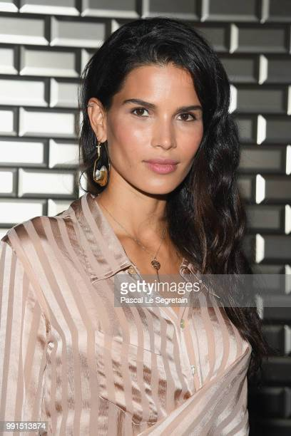 Raica Oliveira attends the JeanPaul Gaultier Couture Haute Couture Fall/Winter 20182019 show as part of Haute Couture Paris Fashion Week on July 4...