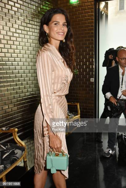 Raica Oliveira attends the JeanPaul Gaultier Haute Couture Fall Winter 2018/2019 show as part of Paris Fashion Week on July 4 2018 in Paris France