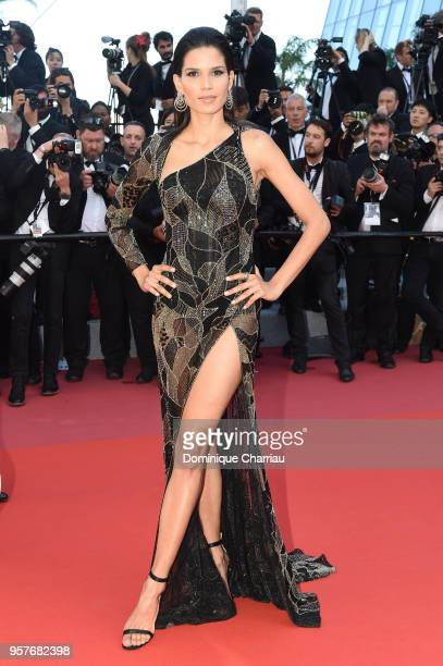 Raica Oliveira attends the screening of 'Girls Of The Sun ' during the 71st annual Cannes Film Festival at Palais des Festivals on May 12 2018 in...