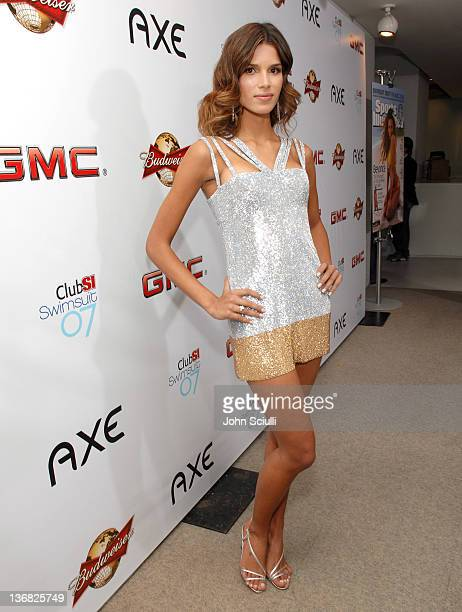 Raica Oliveira during 2007 Sports Illustrated Swimsuit Issue Red Carpet at Pacific Design Center in Los Angeles California United States