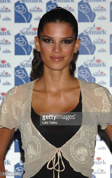 Raica Oliveira during Raica Oliveira Launches Selmark Underwear Collection April 20 2006 at IFEMA in Madrid Spain