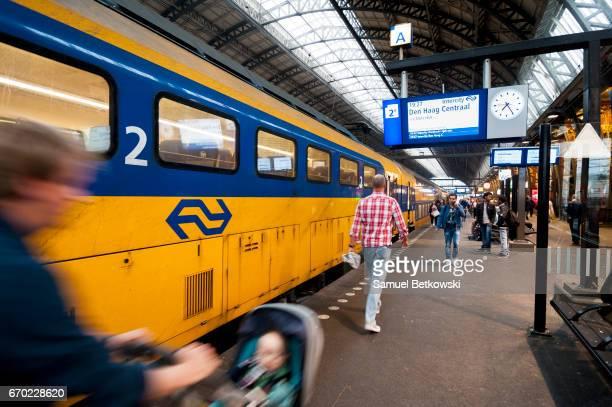 Rail Boarding Platform