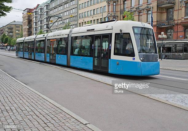 Rail bus in friendly Gothenburg