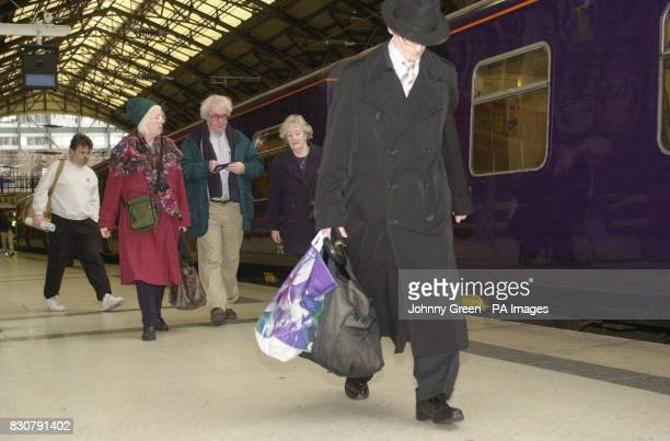 Rail Commuters arrive at Liverpool Street Station in the City of London The Government's rail strategy body announced a major plan to drive forward...