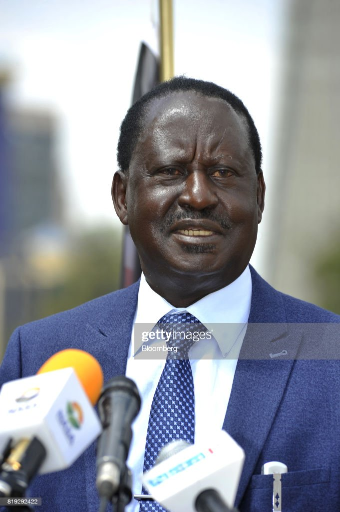 Kenyan Opposition Leader Raila Odinga News Conference Ahead Of August Election
