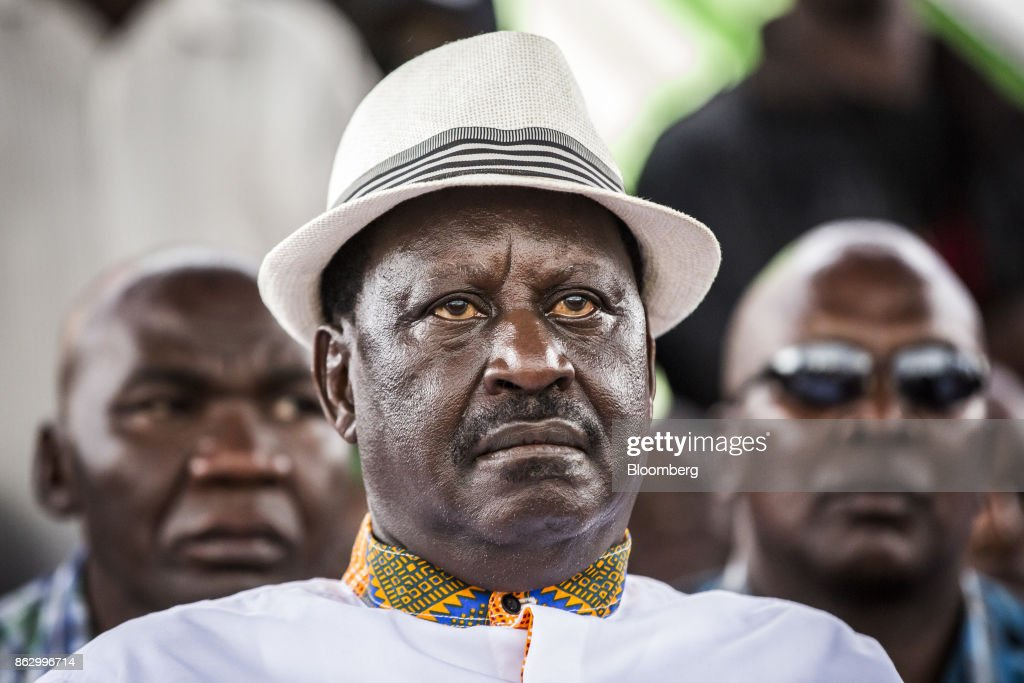National Super Alliance  Opposition Leader Raila Odinga Attends Political Rally Ahead Of Election Re-run
