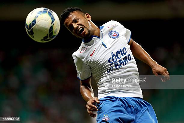Railan of Bahia in action during the match between Bahia and Criciuma as part of Brasileirao Series A 2014 at Arena Fonte Nova on August 20 2014 in...