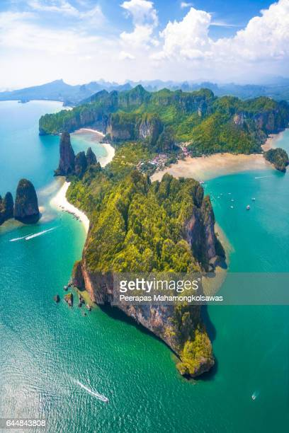 Railay Beach Island of Krabi Thailand