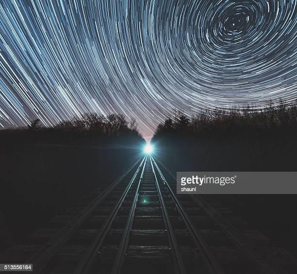 Eisenbahn der Zeit