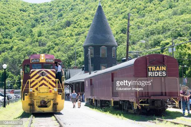 Railroad Station of Yesteryear Jim Thorpe Pennsylvania