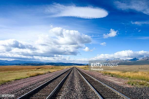 railroad tracks - 線路 ストックフォトと画像
