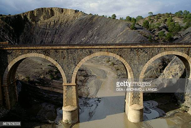 Railway bridge in Kabylie Algeria