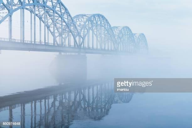 Railway bridge in Riga