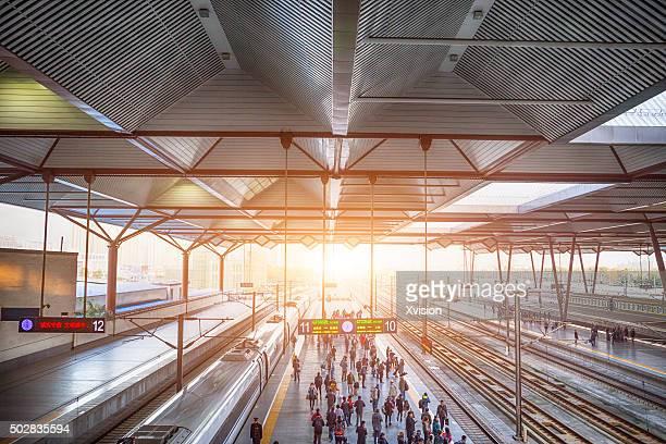 Railway station in Shanghai