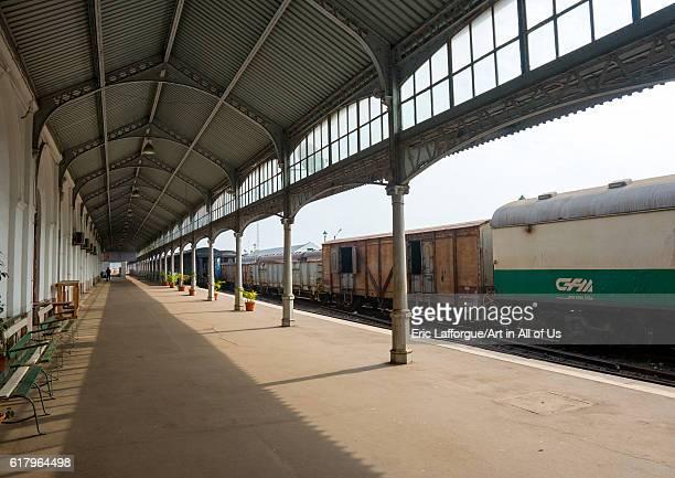 Railway station maputo Mozambique on February 9 2012 in Maputo Mozambique