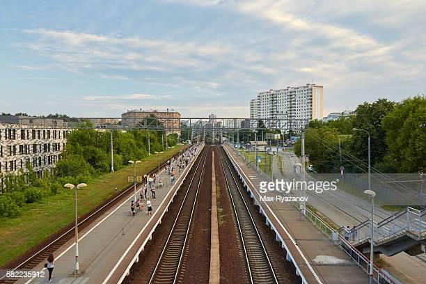 ZIL railway station platform