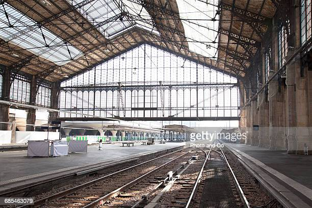 Railway station without train, Gare d'Austerlitz