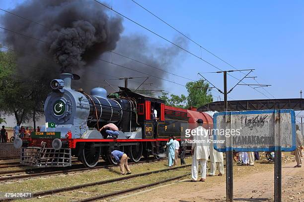 CONTENT] Railway Steam Safari train stopped at The KanaKacha station and the Technician checking it Few years before The Last steam safari was...