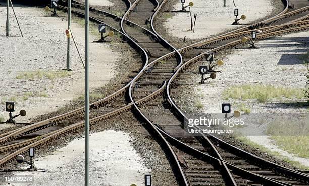 GERMANY MASCHEN Railway yard of the Deutsche Bahn AG in Maschen in the south of Hamburg
