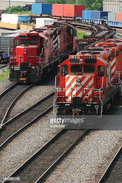 railways and locomotives - rail freight stock pictures, royalty-free photos & images