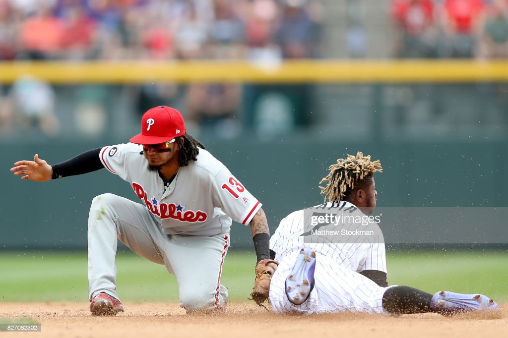 Philadelphia Phillies v Colorado Rockies