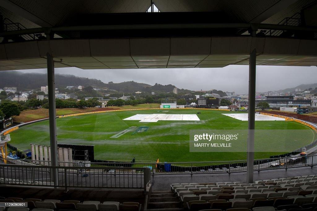 CRICKET-NZL-BAN : Foto jornalística