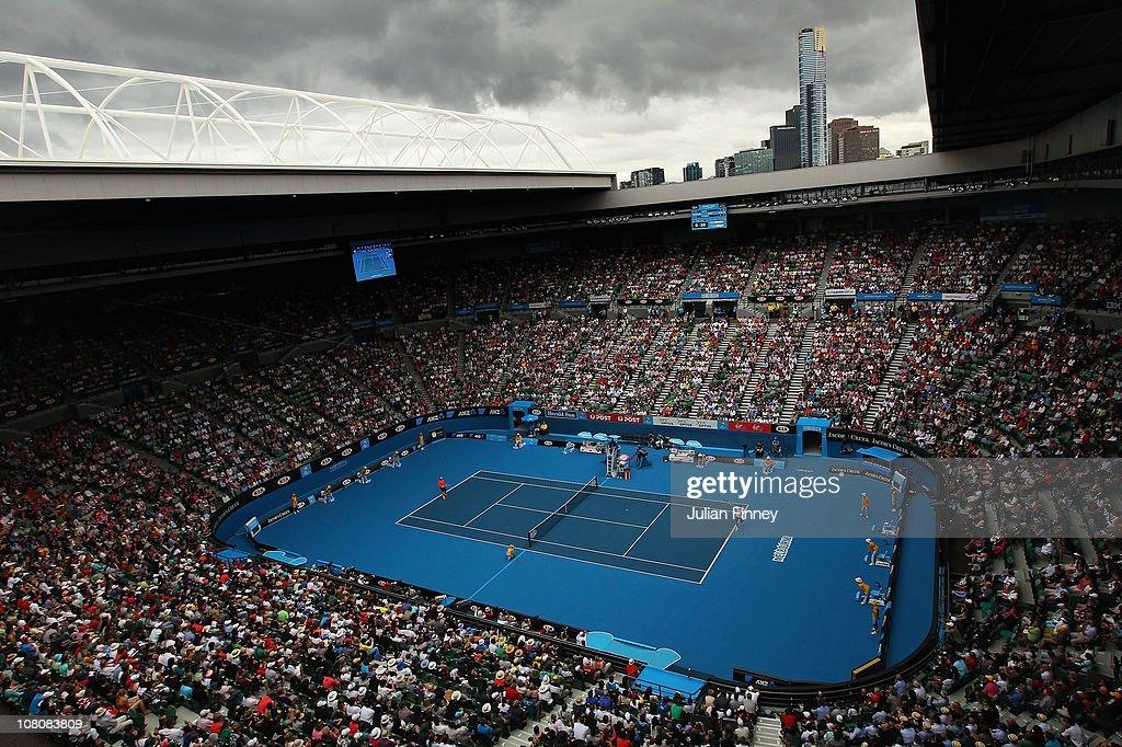 2011 Australian Open - Day 1 : ニュース写真
