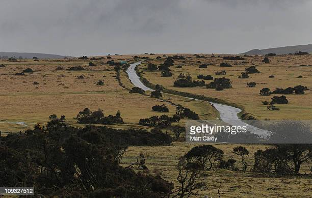 Rain clouds gather over Bodmin Moor on February 21 2011 in Bodmin England SWEP is calling on the authorities in Cornwall to recognise that there is a...