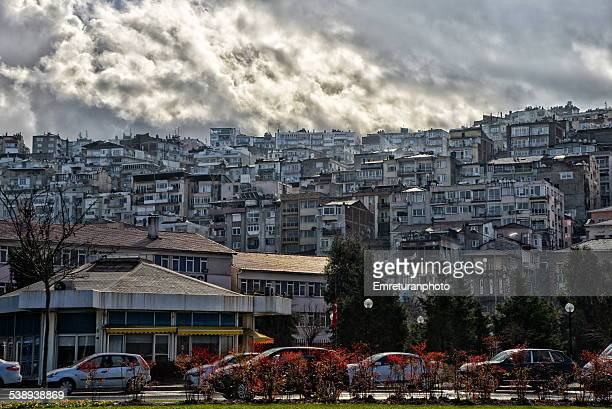 rain clouds over karatas - emreturanphoto stock pictures, royalty-free photos & images