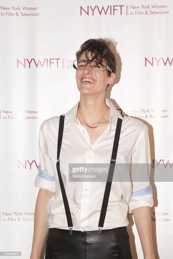 Rain Dove attends the 2015 New York Women in Film & Television Designing Women Awards Gala at Scholastic Auditorium on May 28, 2015 in New York City.