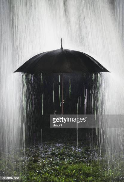 rain down - sheltering stock pictures, royalty-free photos & images
