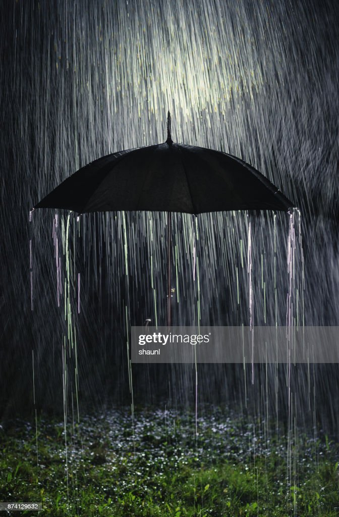 Rain Down : Stock Photo