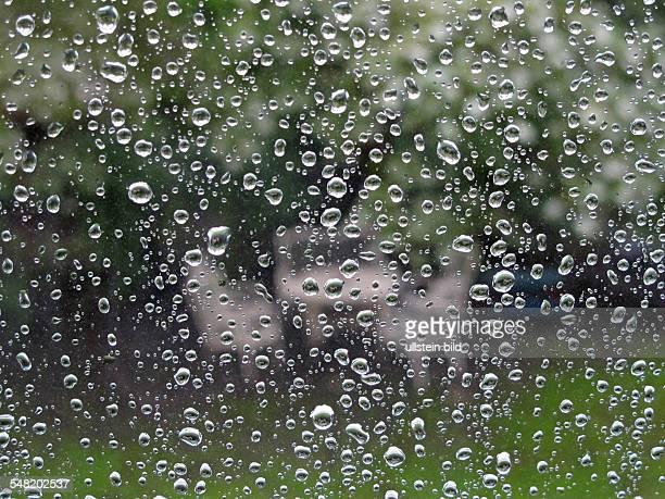rain drops at a window