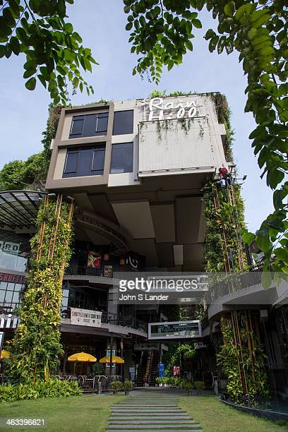 Rain Hill was designed using the buildings' green facade to absorb the sun's rays heat and noise Its concept is an ecosystem the original existing...