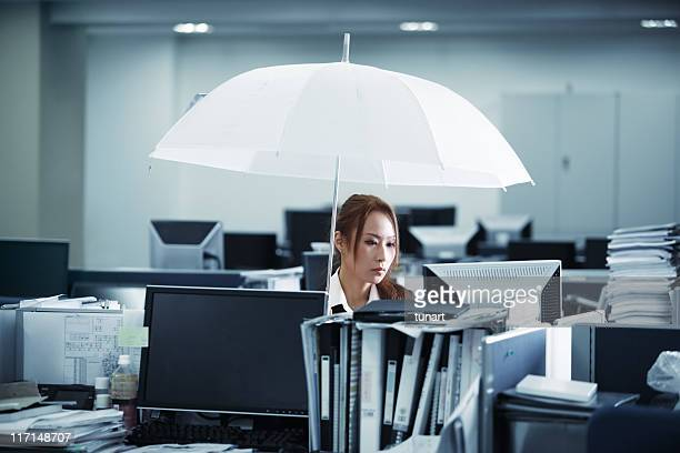 Rain in Office