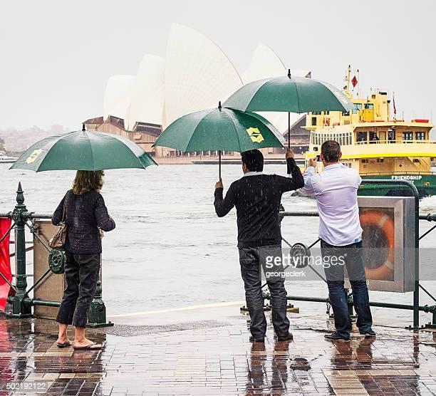 Rain in Sydney